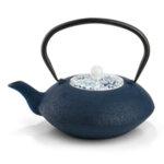 """BREDEMEIJER Чугунен чайник """"Yantai"""" - 1,2л - цвят тъмно син"""
