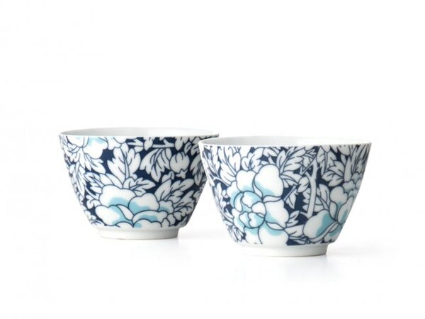"BREDEMEIJER Комплект от 2 порцеланови чаши за чай ""Yantai"""