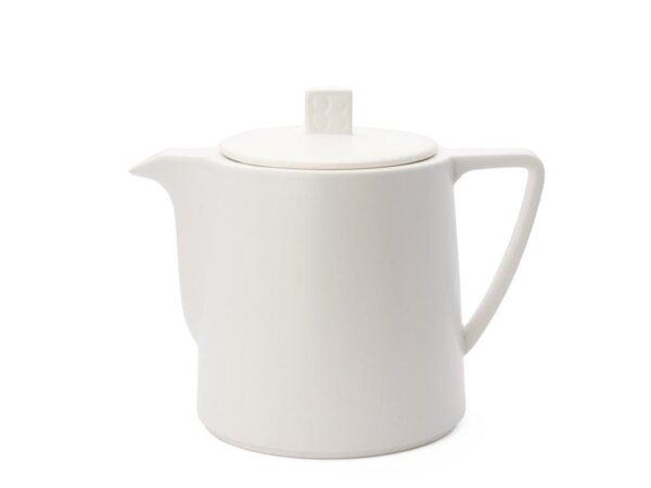 """BREDEMEIJER Керамичен чайник """"Lund"""" - 1л - цвят бял"""
