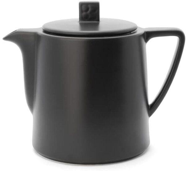 "BREDEMEIJER Керамичен чайник ""Lund"" - 1л - цвят черен"