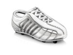 """ZILVERSTAD Детска касичка със сребърно покритие """"Футболна обувка"""""""