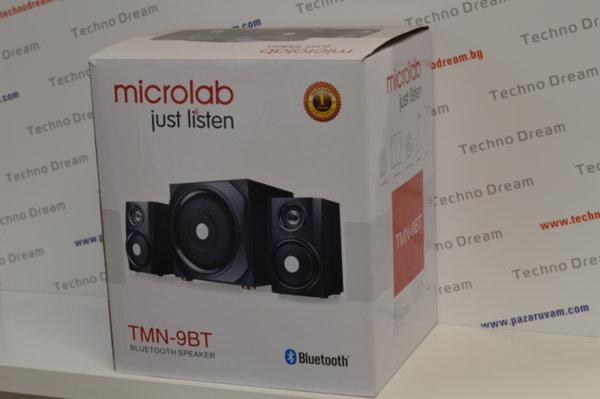 Колони MICROLAB TMN-9BT 2.1 Bluetooth 4.0