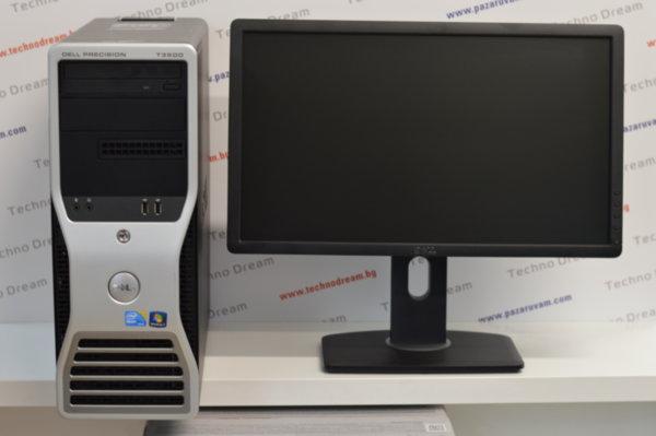 """Компютър Dell Precision T3500 + Монитор Dell 21,5"""""""