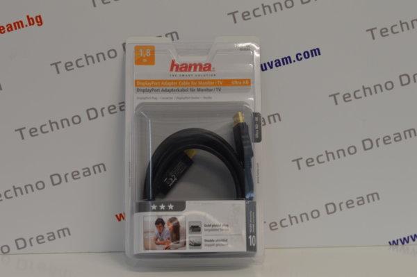 Кабел HAMA - DisplayPort - HDMI