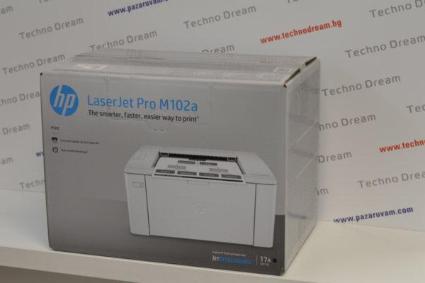 Лазерен принтер HP LaserJet Pro M102a