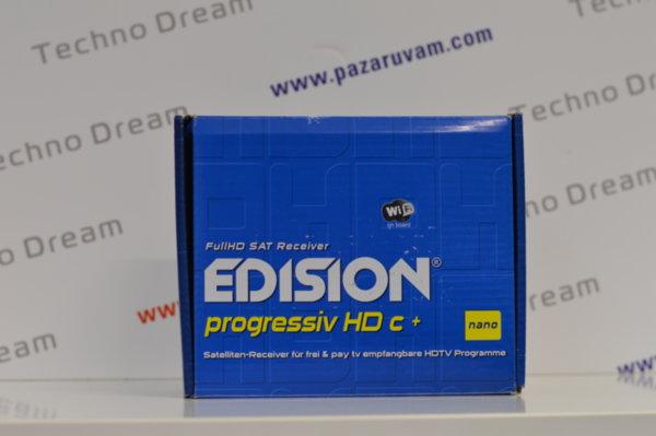 HD сателитен приемник EDISION Progressiv HDc NANO PLUS