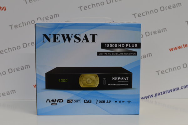 HD Сателитен приемник NEWSAT 18000 HD PLUS