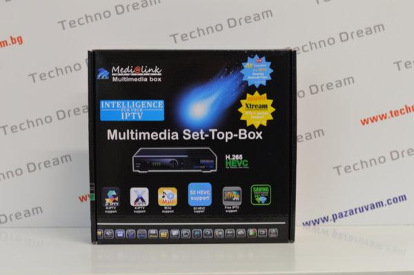HD Комбиниран сателитен приемник MediaLink ML 7100 + IPTV