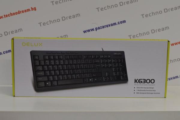Клавиатура Delux DLK-K6300 - USB