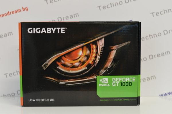 GIGABYTE GeForce GT 1030 Low Profile 2G DDR5