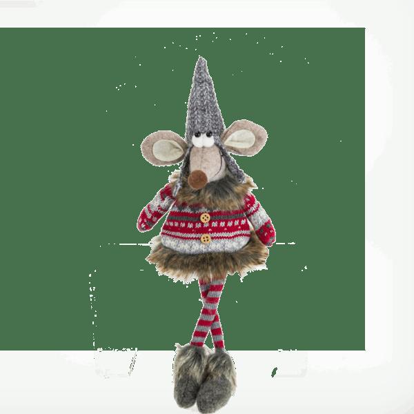 Коледна декорация - Мишка 14см 26027755
