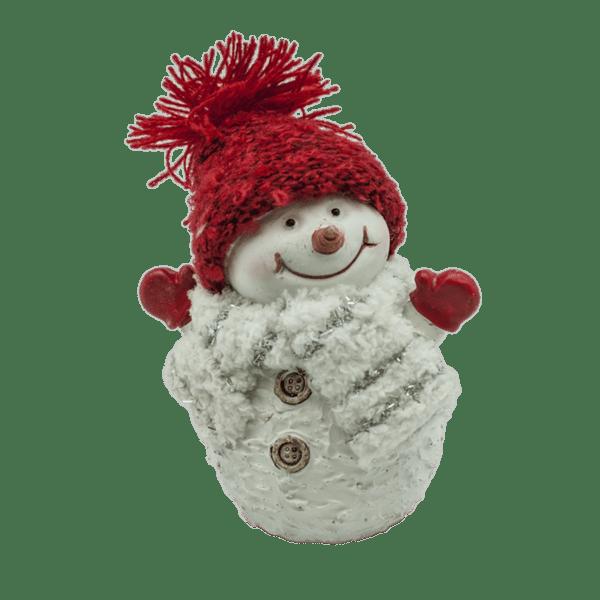 Коледна декорация - Снежен човек 10.5см 23028393