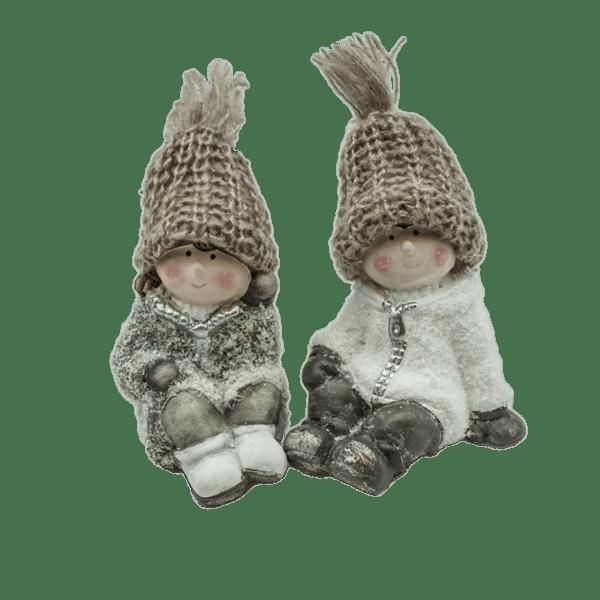 Коледна декорация - Деца 9.5см 23028397