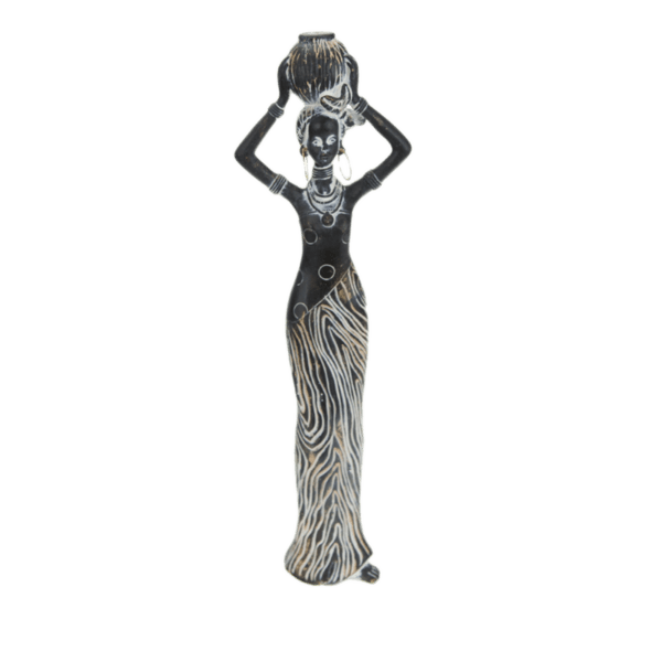 Декораривна фигура африканка 10см 81027998