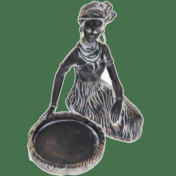 Декораривна фигура африканка 16см 80028000