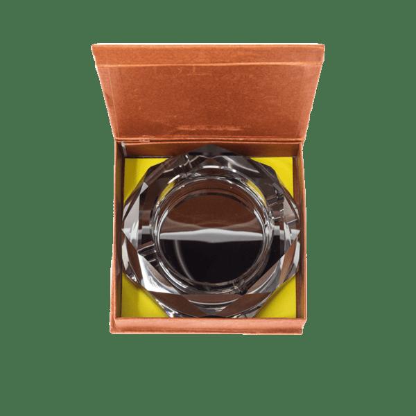 Стъклен пепелник 18см 78028225