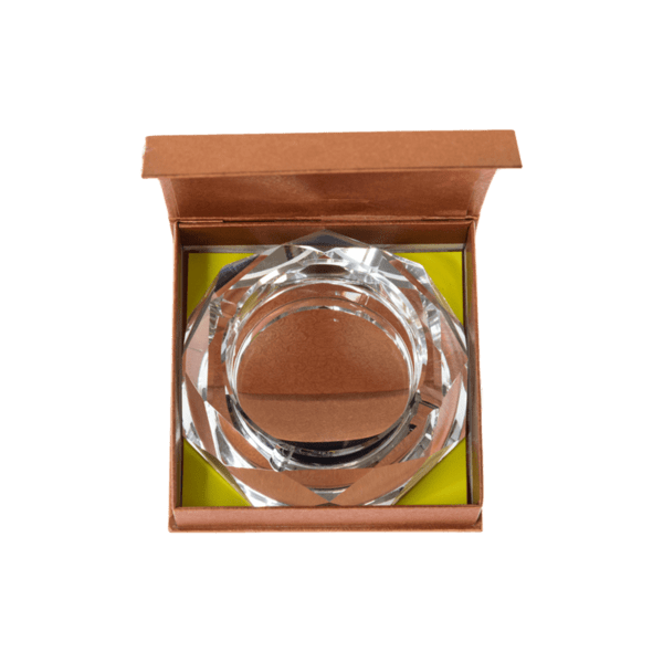 Стъклен пепелник 18см 78028227
