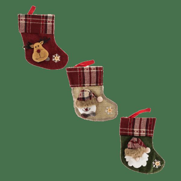 Коледно чорапче 18см 26028069