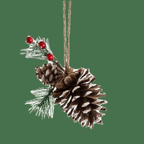Коледна украса - Шишарка 13см 24028087