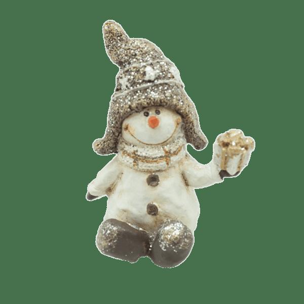 Коледна декорация - Снежен човек 6см 23027751