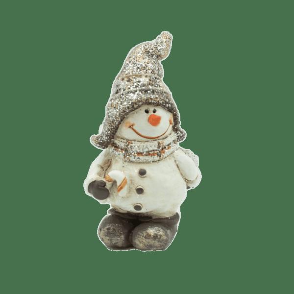 Коледна декорация - Снежен човек 5см 23027752