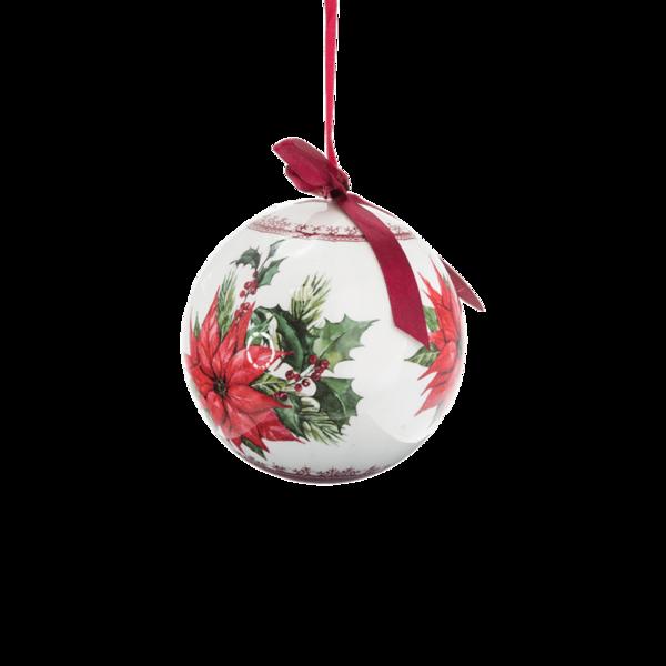 Коледна украса - Топка за елха 15см 24028496