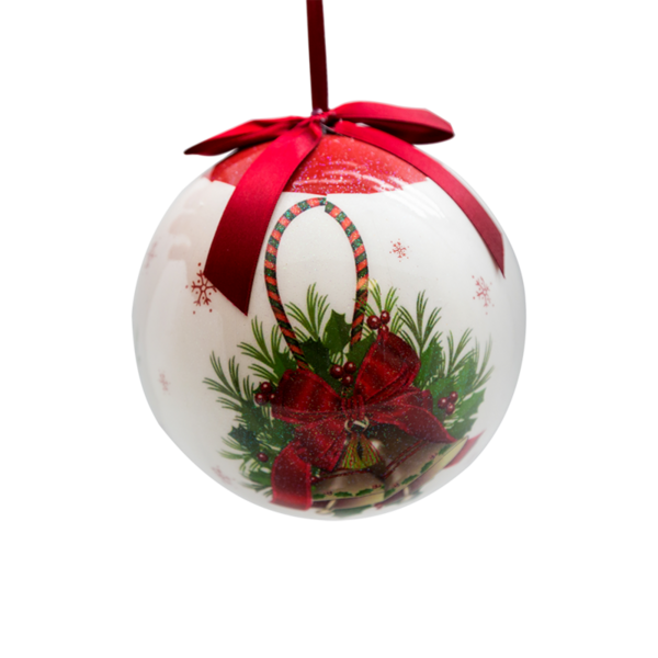 Коледна украса - Топка за елха 15см 24028497