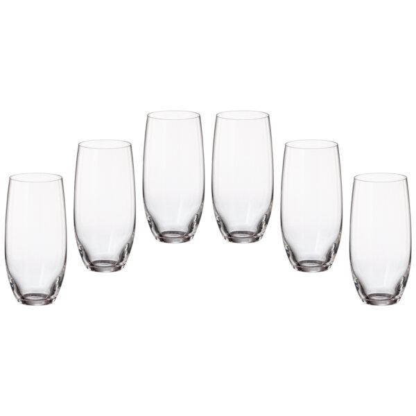 К-т 6 чаши за вода Грус 470мл Мергус 85028608