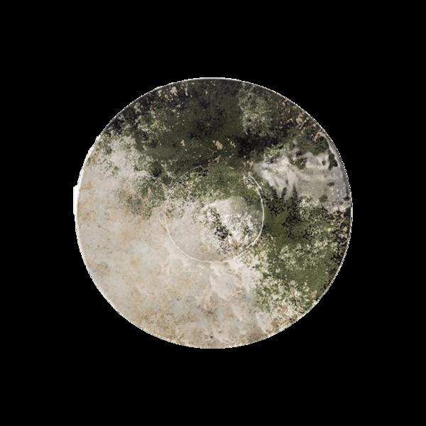 Стъклено кръгло плато 32.5 - Зелено 78028458