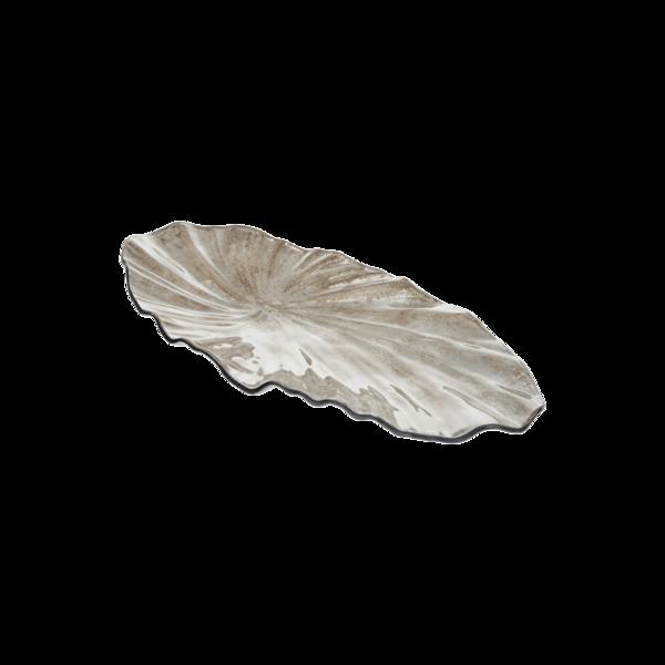 Стъклено плато 26см - Седеф 78028466