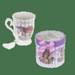 Чаша за чай в подаръчна кутия