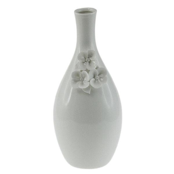 Ваза Бели цветя 28см 71023029