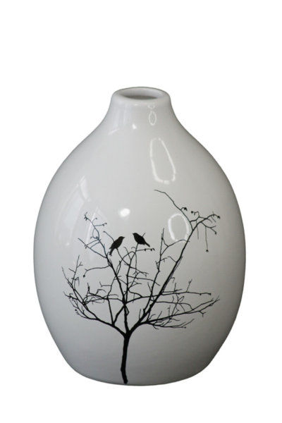 Ваза - Зимно дръвче 19см 71023971