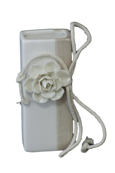 Ваза - Роза в бежаво 13см 71024007