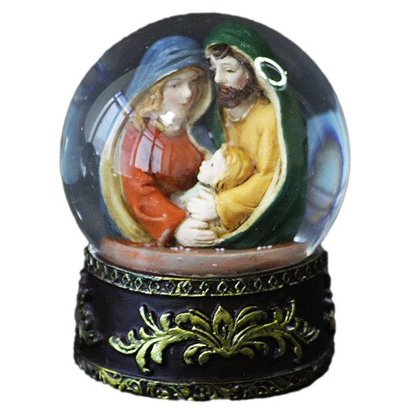 Коледно преспапие Рождество Христово - инкрустация 9см 23024129