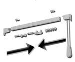 двупосочно (събиране на пердето в ляво и в дясно)