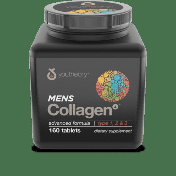 Колаген за мъже 160 таблетки I YOUTHEORY