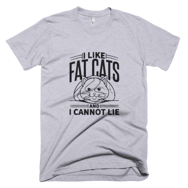 I like fat cats and I cannot lie