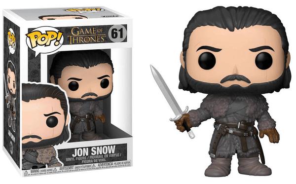 Funko POP! Фигурка Game of Thrones Jon Snow beyond the Wall 9 cm POP!