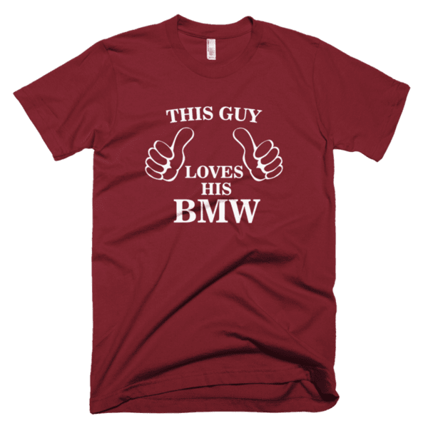 This guy loves his BMW