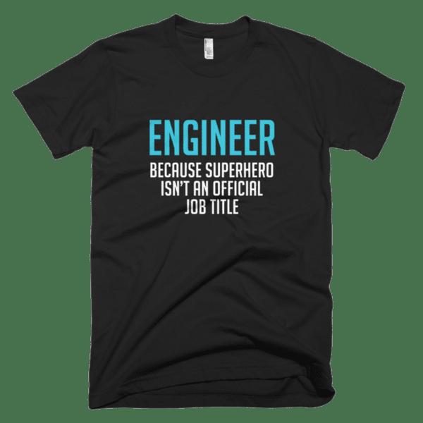 Engineer because Superhero isn't an official job title