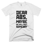 Dear ABS maybe we will meet someday