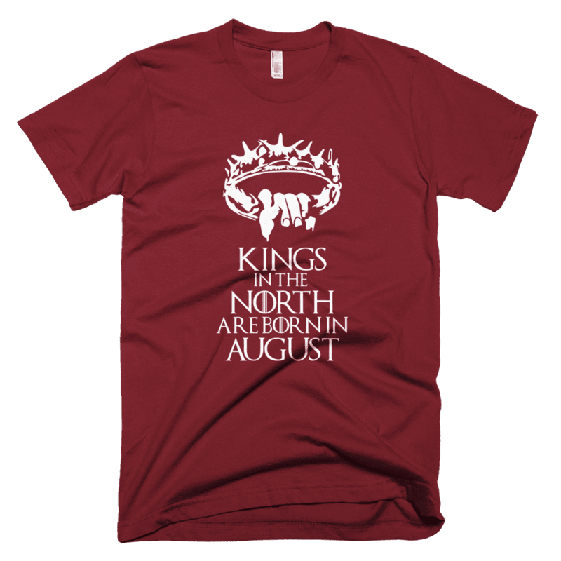 Kings in the North are born in July-Copy