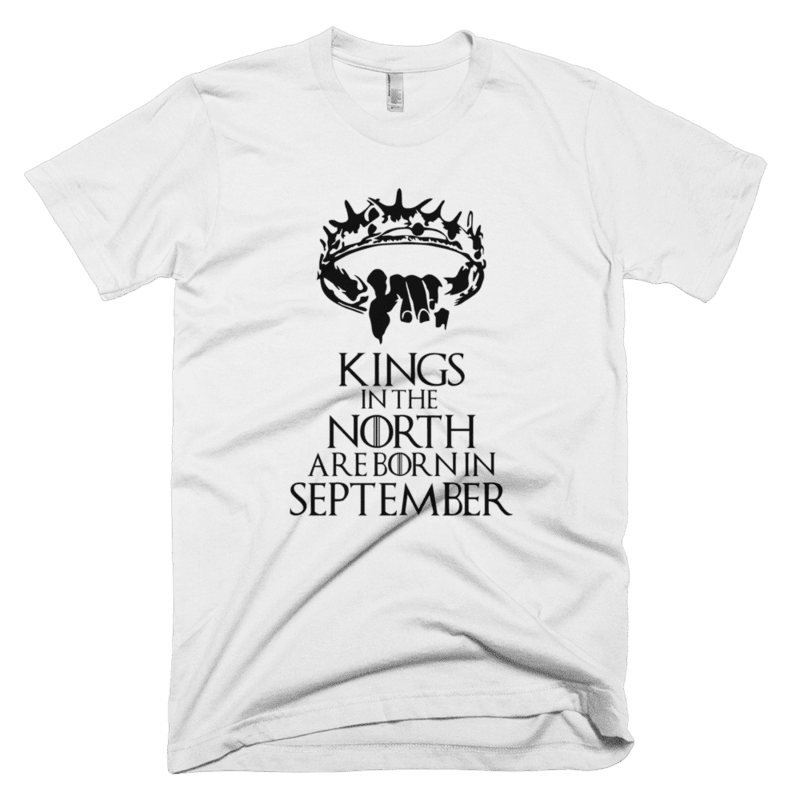 Kings in the North are born in August-Copy