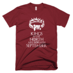 Kings in the North are born in September