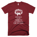 Kings in the North are born in December