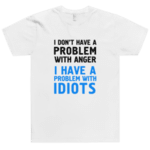 I don't have problem with anger