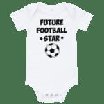 Бебешко боди Future Football Star