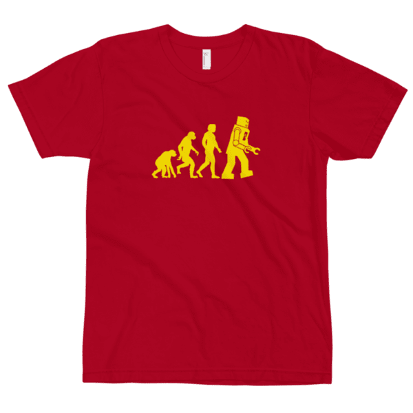Sheldon evolution t-shirt