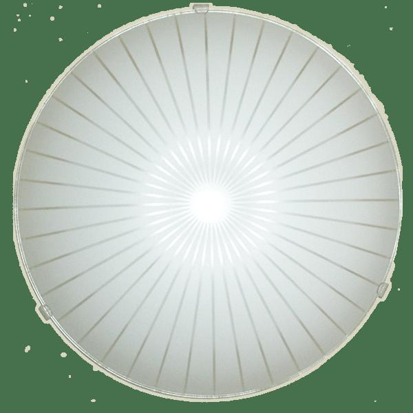 Плафониера КАЛИПСО, ø300, Бял мат